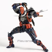 Revoltech מס 011 DC קומיקס Deathstroke PVC פעולה איור אסיפה דגם צעצוע