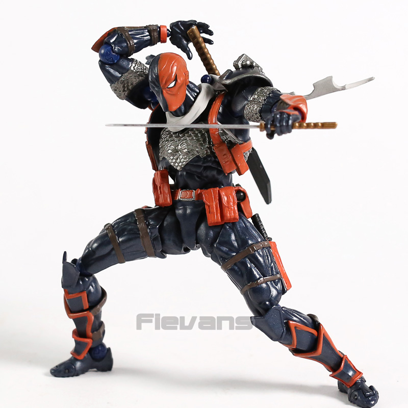 Revoltech NO.011 DC Comics Deathstroke PVC Action Figure Collectible Model Toy