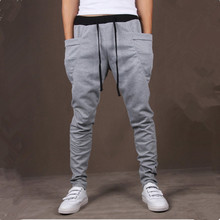 Лидер продаж Новинка года 8 цветов карман для мужчин s штаны для бега карго мужчин брюки для девочек тренировочные штаны-шаровары Повседневные