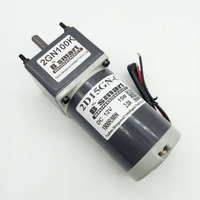 Bringsmart 2D15GN 24 12 Volt DC Gear Motor Speed Regulation Reversible Motor Slow Speed Motor