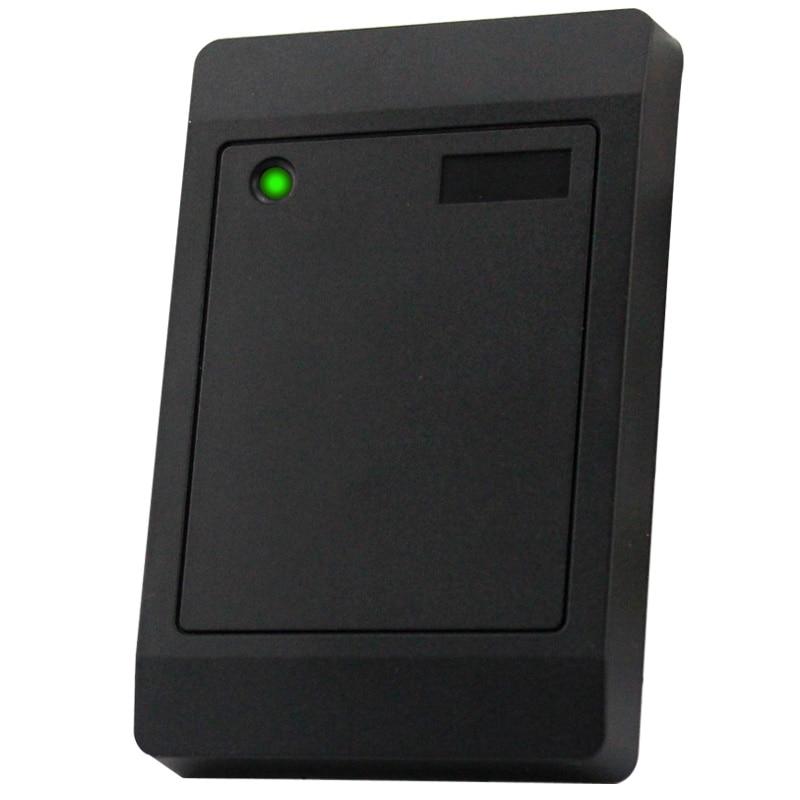 Access Control RFID Reader EM/IC Card Door Less Than 0.2 Second Response Speed 125khz 12V Waterproof IP65 Card Reader