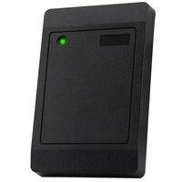 Leitor de cartão ip65 impermeável da velocidade 0.2 khz 12 v da resposta de menos de 125 segundos da porta do cartão do leitor em/ic do controle de acesso rfid