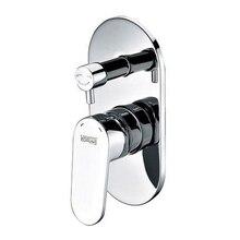 Смеситель для ванны WasserKRAFT Donau 5341 (Керамический картридж 40мм, керамический поворотный переключатель)