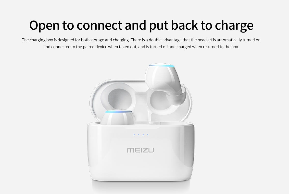 Original Meizu POP 2 Wireless Earbuds