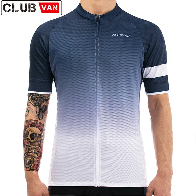 clubvan Gradual change Breathable Cycling Jersey Summer Mtb Bicycle Short  Clothing Ropa Maillot Ciclismo Sportwear Bike Clothes 3d013afab