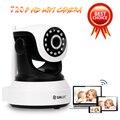 SUNLUXY 720 P HD de Red Inalámbrica WiFi Cámara IP de 1MP Onvif CCTV bebé de La Cámara P/T IR de Visión Nocturna de la Ayuda 32G SD Tarjeta de Vídeo Audio