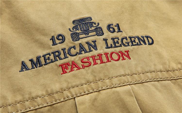 AFS JEEP 2015 Spring Autumn Fashion Men\'s Cotton Dress Plus Size Shirts Camisa Hombre Blouse Vestido Men Clothes Casual 2XL 3XL (12)