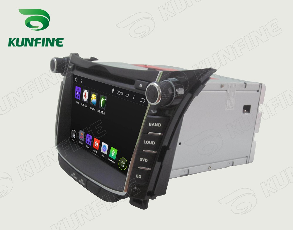 Car dvd GPS Navigation player for I30 2011-2013 7 inch C