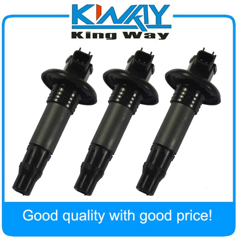 SeaDoo 3 Pack Ignition Coil Stick 420664020 296000307 GTX RXT RXP GTI GTS Wake