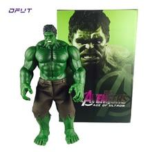 Hot Avengers Incredible Hulk Buster 42CM PVC Toys Action Figure Hulk Smash For Children Gift Free Shipping цена и фото