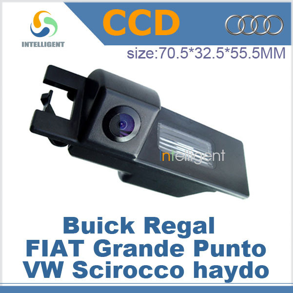 Free shipping Car parking backup camera For Buick Regal FIAT Grande Punto VW Scirocco haydo HD color CCD night vision