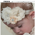 TWDVS Baby Headband Hair Bowknot Headbands Infant Hair Accessories Girls grosgrain ribbon Bow Headband Toddler hair bands w--037