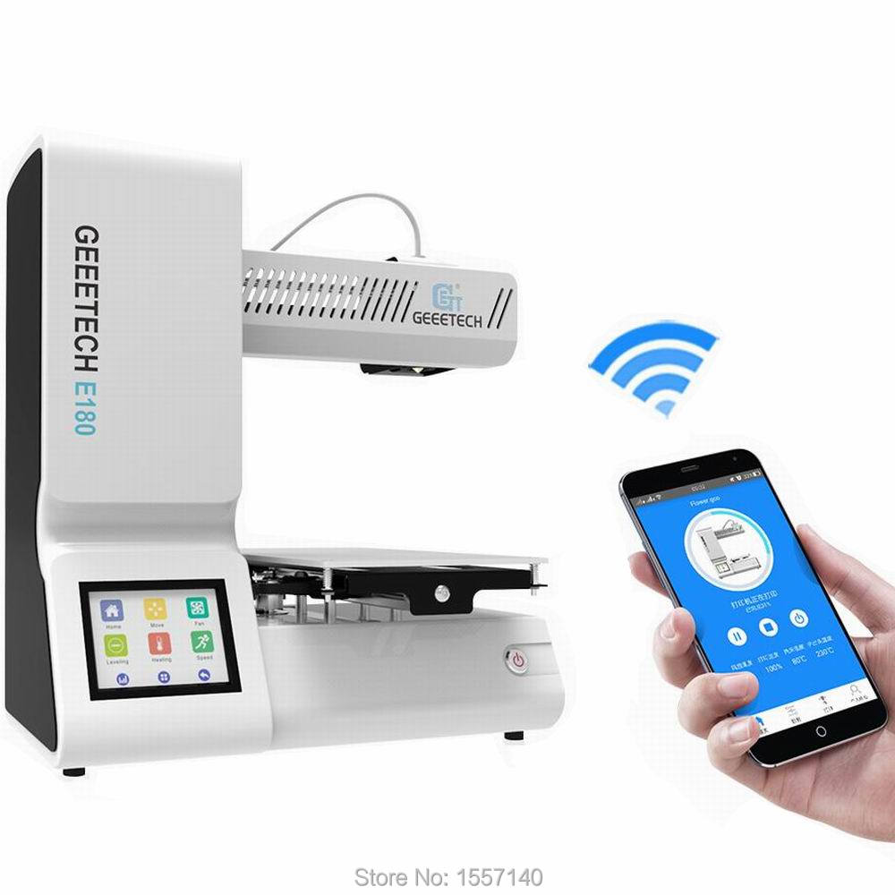 Smart 3D Printer Full Assembled Wifi Cloud Printing 3.2 color touch screen E180 2012 full color 180 pages printing catalog of chef essentials