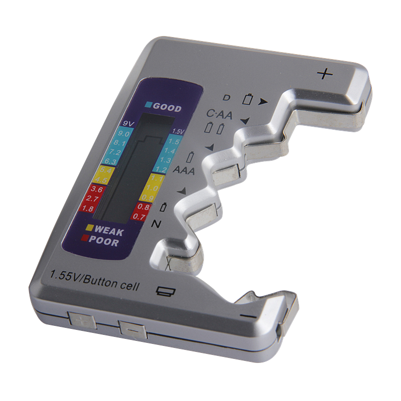 Digitális akkumulátor tesztelő ellenőrző akkumulátor kapacitás - Mérőműszerek - Fénykép 2