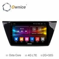 HD 1024 10.1 cal Android 6.0 Samochodowy Odtwarzacz DVD Dla Volkswagen VW Touran 2016 Octa 8 Rdzeń GPS Navigation Radio Stereo 4G WIFI