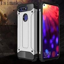 Чехол для huawei Honor 9 10 Lite 20 10i 20i 7A 7C 9X Pro 8A 8C 8S 8X Max V10 V20 V30 Play чехол силиконовый чехол для телефона повышенной прочности с протекторным рисунком и чехол на заднюю панель