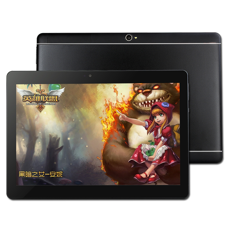 10 Inch Tablet PC Quad Core 4GB RAM 32GB ROM Android 8.0 WiFi Bluetooth 1280x800 Ips 3G 4G Call Dual SIM Card Tablet PC 10.1