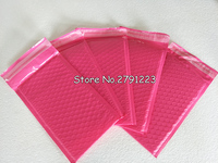 50pcs Pack 130 230mm 5 1 X9inch Usable Space Poly Bubble Mailer Envelopes Pink