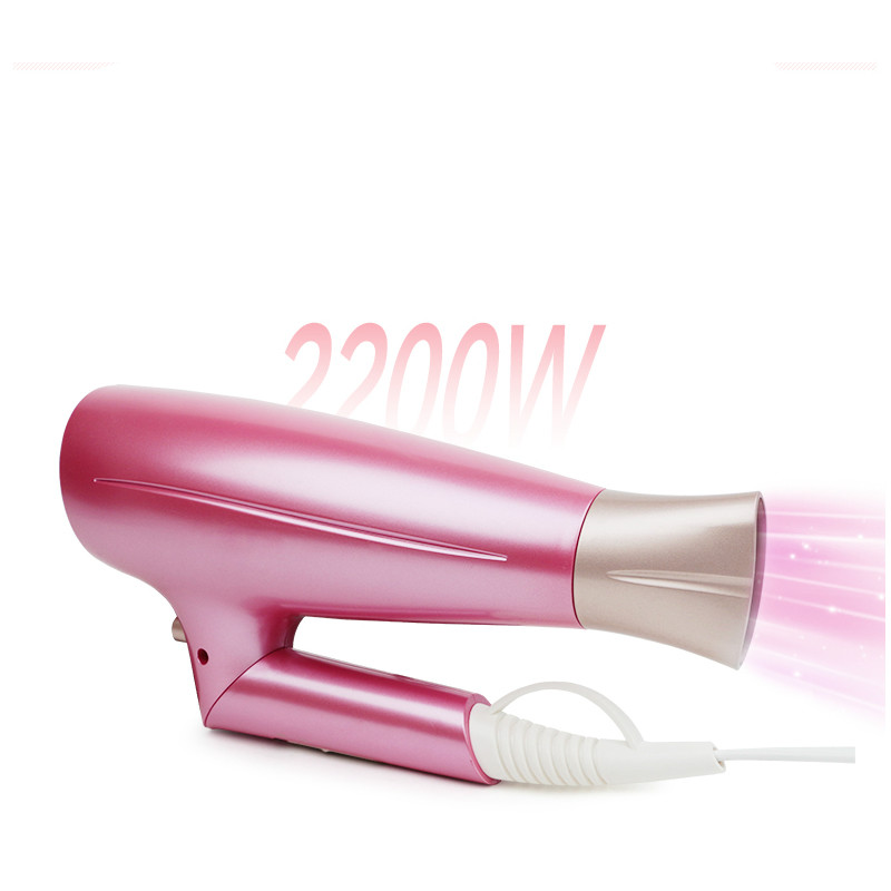 Hair Dryers electric dryer can be used for folding high-power portable student hot and cold air with no harm NEW do no harm