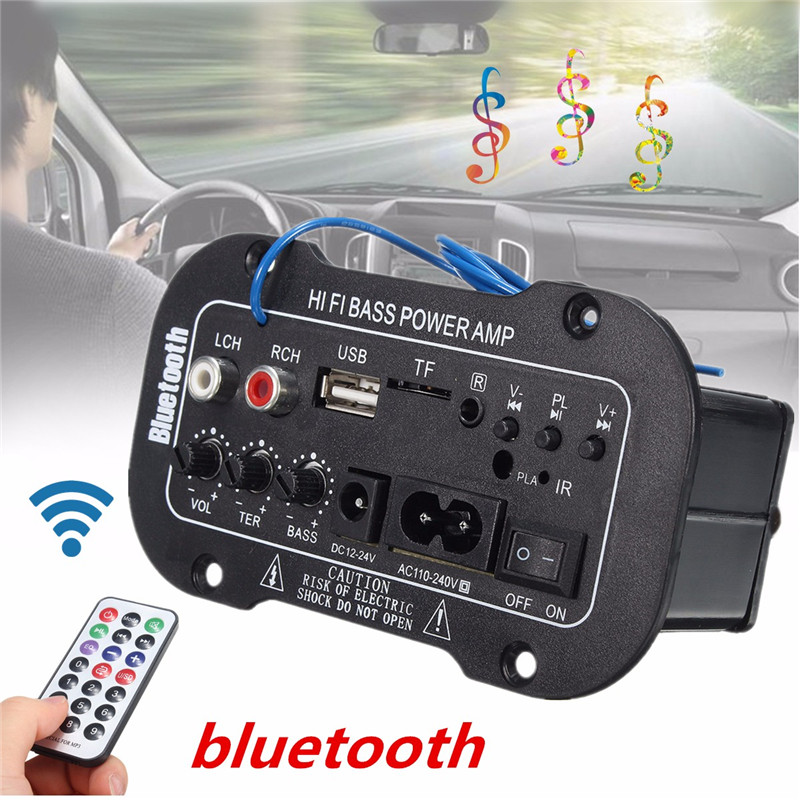 Amplifier-Board Subwoofer Audio Fm-Radio Motorcycle Bluetooth Home USB Dac 30W For Car