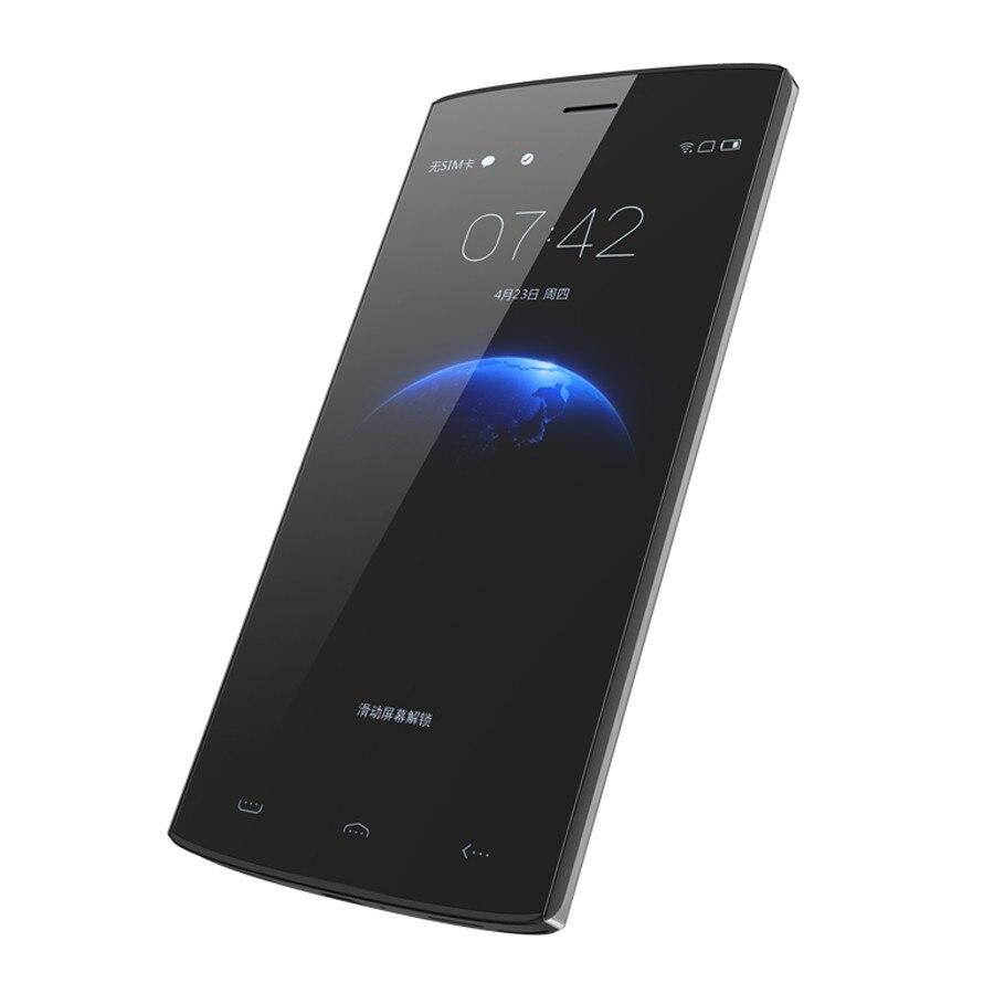 """bilder für Original schwarz homtom ht7 pro 5,5 """"ips hd mtk6735p android 5.1 2 gb ram 16 gb ram 8mp 4g lte smartphone doppel-sim google play store"""
