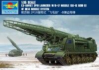 Труба 01024 1:35 советский 2P19 гусеничный Скад баллистических ракет B сборка модели строительных Наборы игрушка