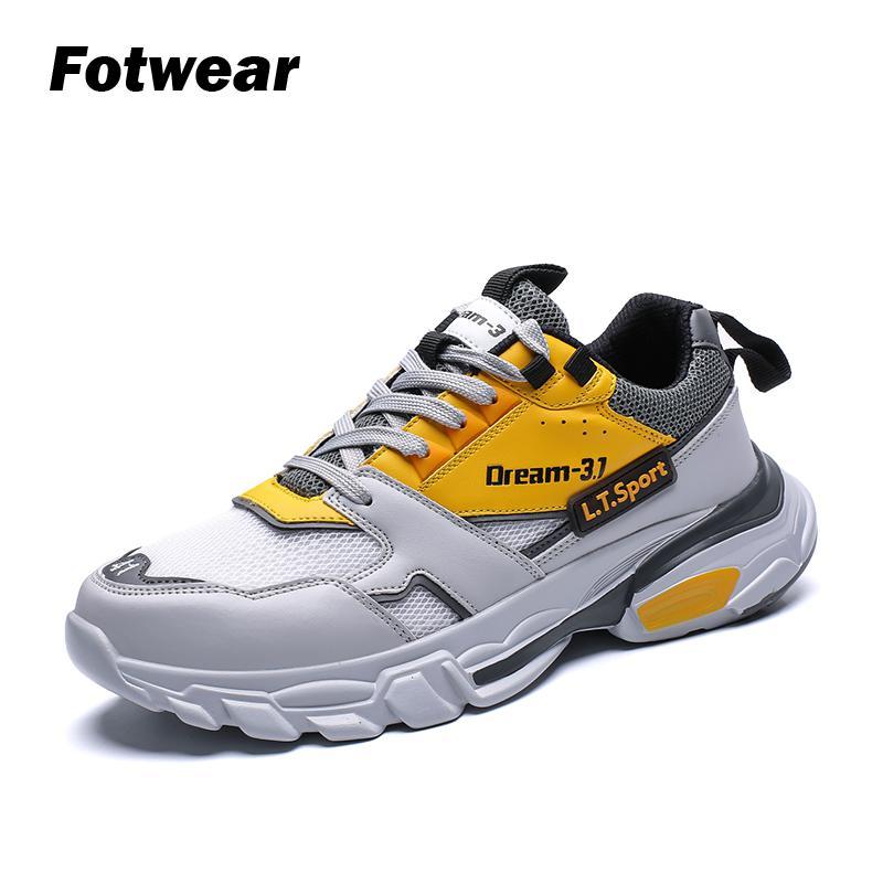 Мужские кроссовки Fotwear, легкие повседневные кроссовки из вспененного материала на резиновой подошве