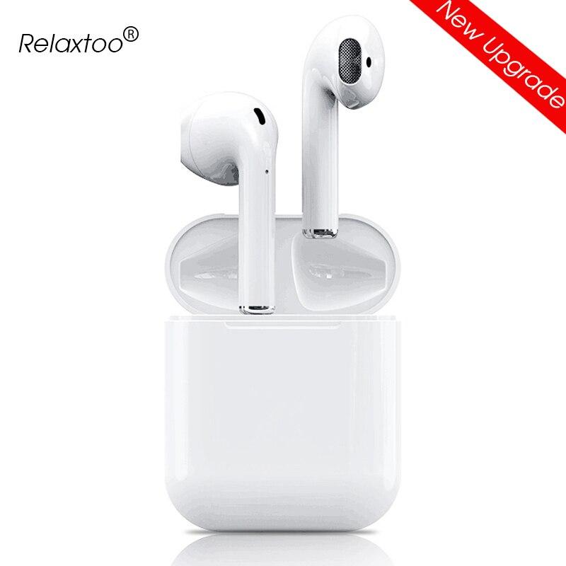 I12 tws Bluetooth 5.0 Auricolare Senza Fili Auricolari Per apple Iphone Samsung Sony Xiaomi Stereo Blutooth Auricolare con Scatola di Carico