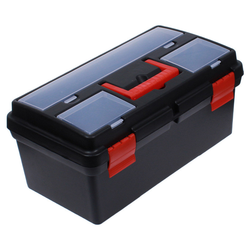 2 Floor Multifunctional Fishing Tackle Box Plastic For Float Set Fishing Lure Line Hook Tackle