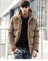 Hotsale Thick Padded Gentalmen Winter Jacket Men Winter Coats Plus Size 3XL