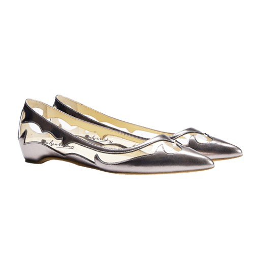 ФОТО Sexy See Through PVC Women Flats Slip-on Gold/Silver Plastic Ladies Flat Heels Round Toe Flat Shoes Woman Zapatos Mujer