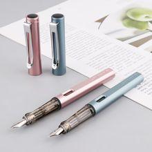 Jinhao 599-A роскошная мужская перьевая ручка бизнес-Студенческая 0,5 мм Средний Тонкий перьевая каллиграфия школьные офисные принадлежности пишущий инструмент