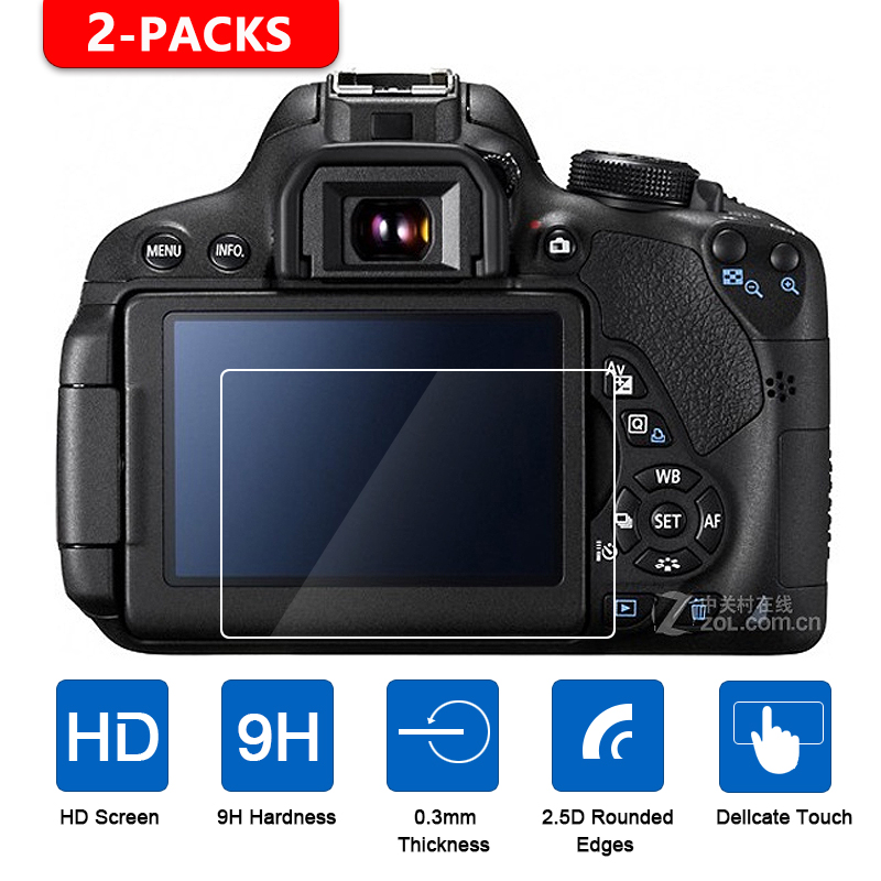 Screen-Protector Tempered-Glass 250D 2000D Rp-M Canon 1dx for EOS R5 R6 M2 100D 600D