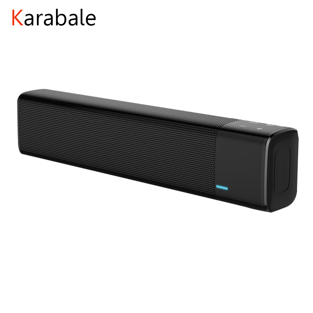 Bluetooth-Speaker Soundbar Portable 20w Stereo Super-Bass Wireless NFC with Touch