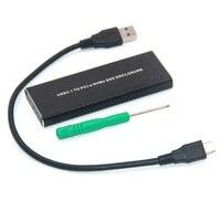 HDD Case NVME PCIE USB3.1 SSD Enclosure M Key Hard Drive HDD Enclosure Case for Hard Disk Drive 2230 2242 2260 2280 M.2 SSD Disk