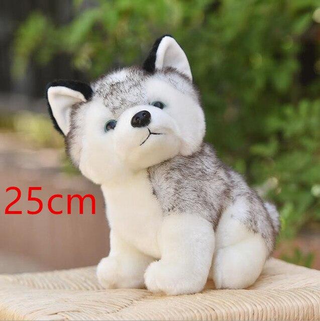 10 stylów Husky zabawka, Kawaii szczeniaczek wypchane
