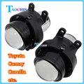 Taochis coche m6 2.5 pulgadas bi xenon lente del proyector kit H11 Bombillas Crystal Clear faros antiniebla Dedicado Para Toyota Corolla Niebla lámpara