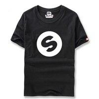 DJ Arno Costo Spinnin Record Music Festival Banda Mondo Casual Colore Puro T-Shirt Da Uomo Divertente Del Partito TopS T Spedizione gratuita