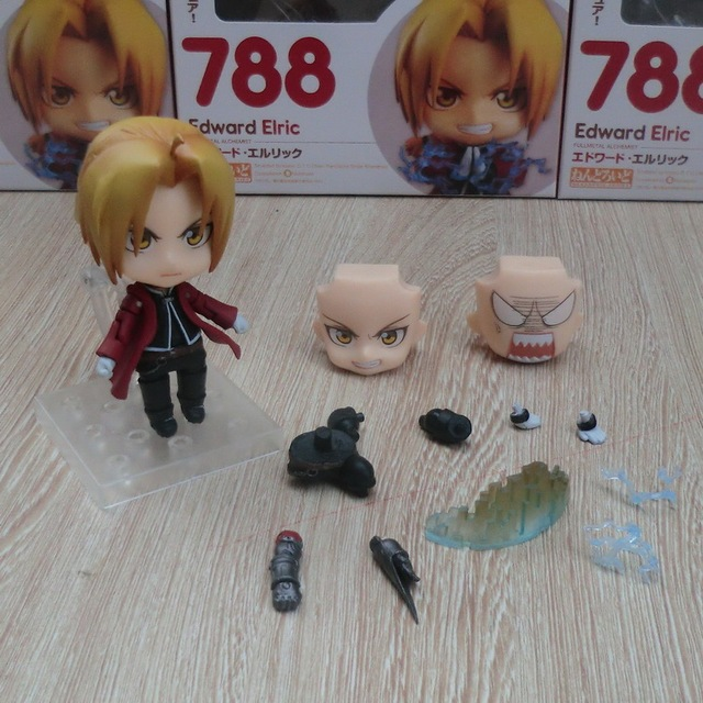 Nendoroid Fullmetal Alchemist Edward Elric 788 Alphonse Elric 796 Cartoon Toy Action Figure Model Doll Gift 4