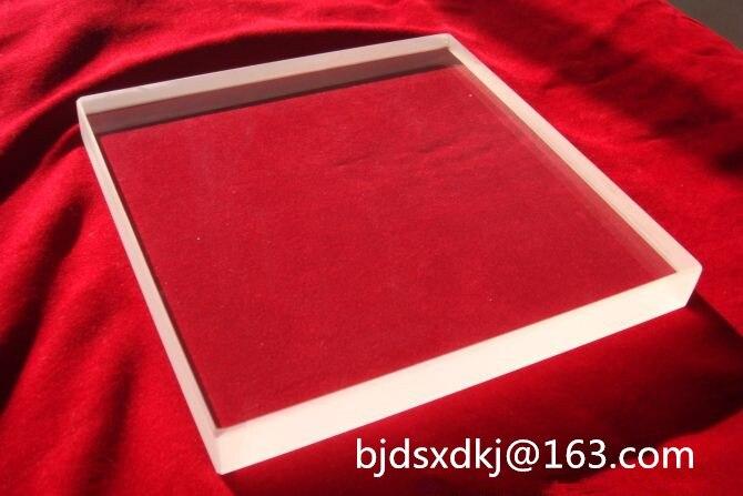 Sapphire Square-Al2O3 Singolo cristallo substrate-15mm * 10mm * 0.4mm-Window film-Epitassiale coating-singolo lucidaturaSapphire Square-Al2O3 Singolo cristallo substrate-15mm * 10mm * 0.4mm-Window film-Epitassiale coating-singolo lucidatura