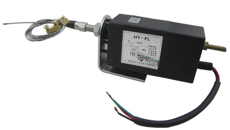 Free shipping HY-PL 24V Electric throttle controller Diesel engine electronic device control power grid electromagnetic valve free shipping xhz pl 12v electric throttle controller diesel engine electronic device control power grid electromagnetic valve