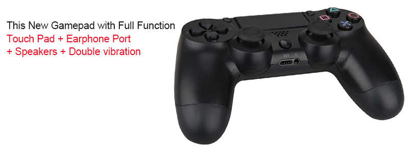 For Sony PS4 Controller Bluetooth Wireless Joystick For PS4 Console For  Playstation Dualshock 4 PC Gamepad For PlayStation 4