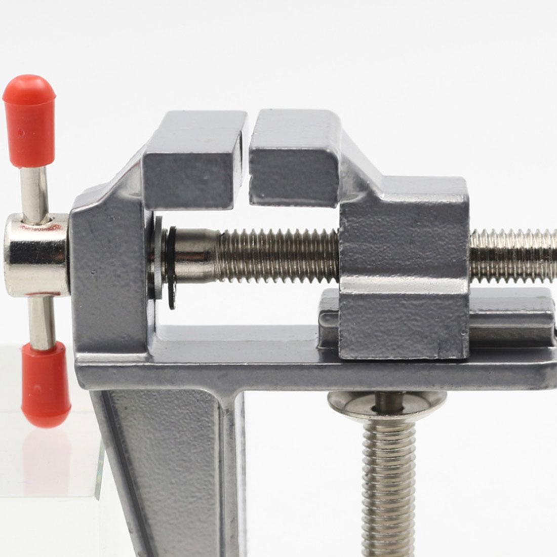 """3,5 """"Алюминиевый миниатюрный маленький зажим для хобби ювелира на настольной скамейке тиски мини-инструмент, многофункциональный"""
