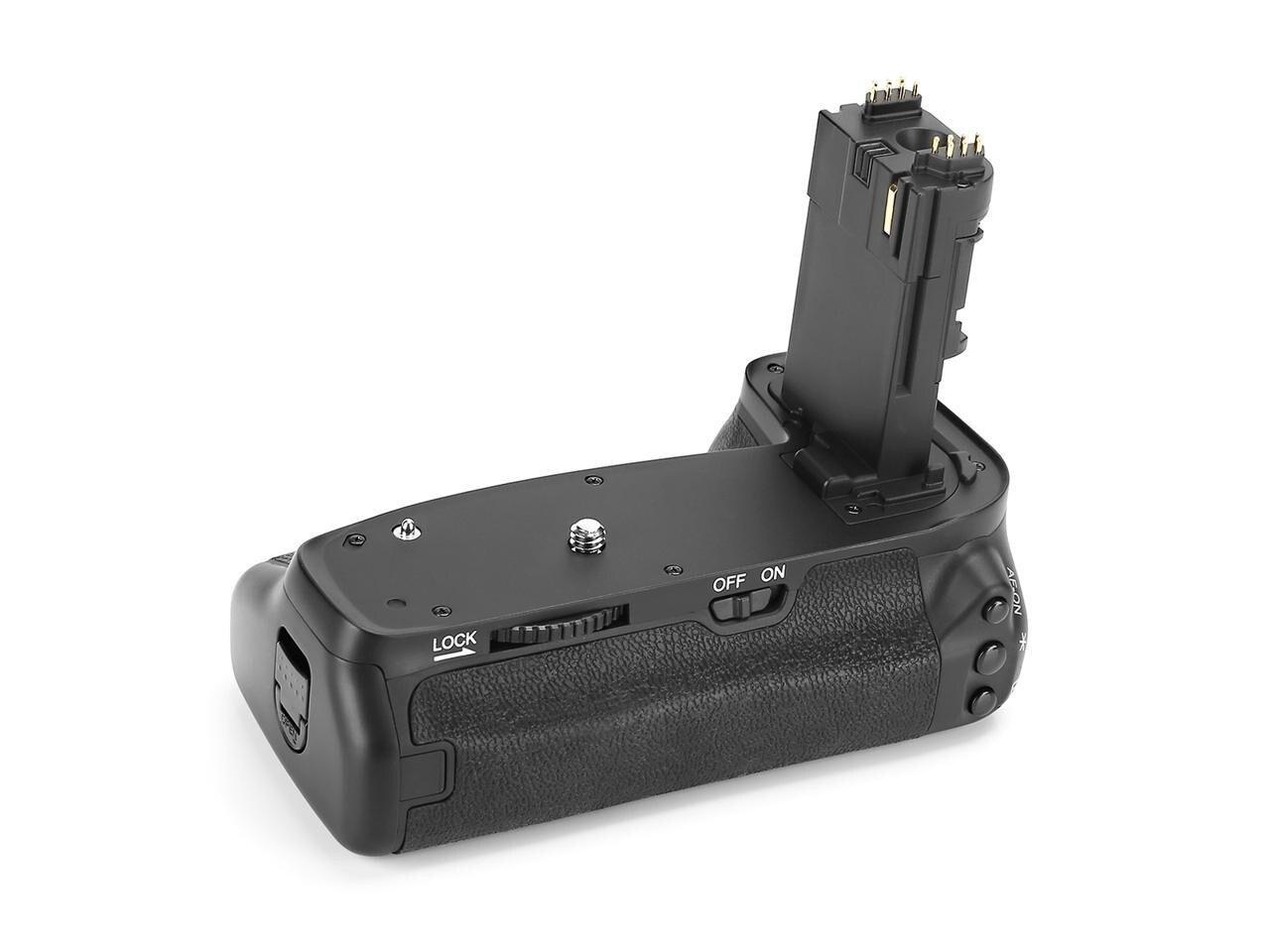 Meike MK-6D2 Pro poignée de batterie intégré 2.4 GHz télécommande fonction de prise de vue verticale pour Canon 6D Mark II