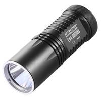 NITECORE EA4W Neutral White Light 5 modes 860Lm XM L U2 led light lamp Flashlight AA torch+protective cover+Hand Strap+manual