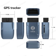 New TK206GPS 306A OBD 2 Real Time GSM Quad Band Anti theft Vibration Alarm GPRS Mini