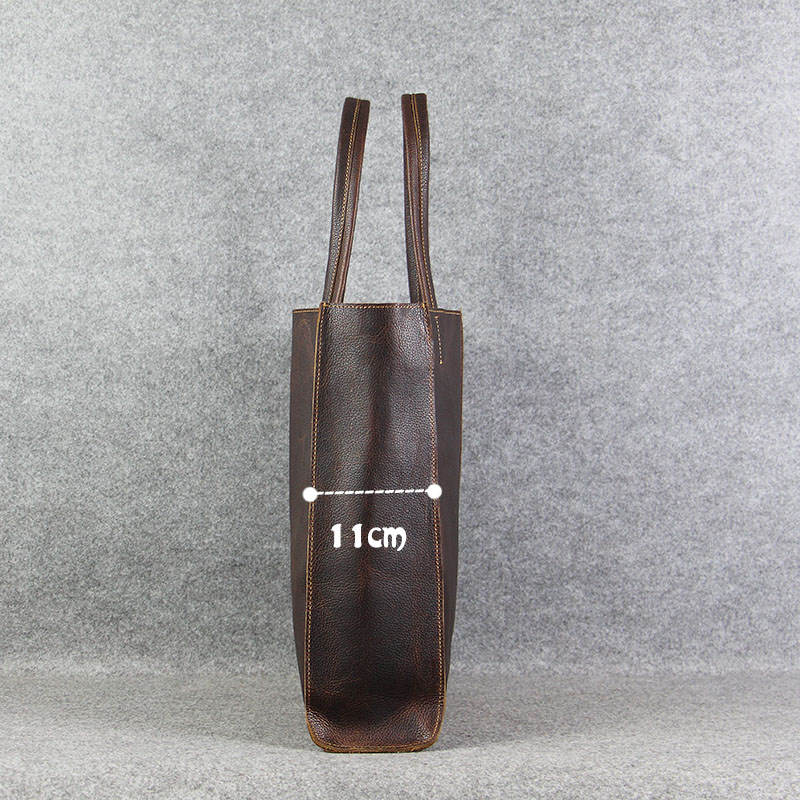 AETOO اليدوية الأصلي حقيبة جلدية الإناث حقيبة الطبقة الأولى من حقيبة يد جلدية حقيبة كتف الترفيه حقيبة تسوق الرجعية-في حقائب قصيرة من حقائب وأمتعة على  مجموعة 3