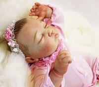 100% ручной работы 20 реального возрождается младенцы куклы Изысканный высокое качество кукла реборн подарок Кукла Коллекция