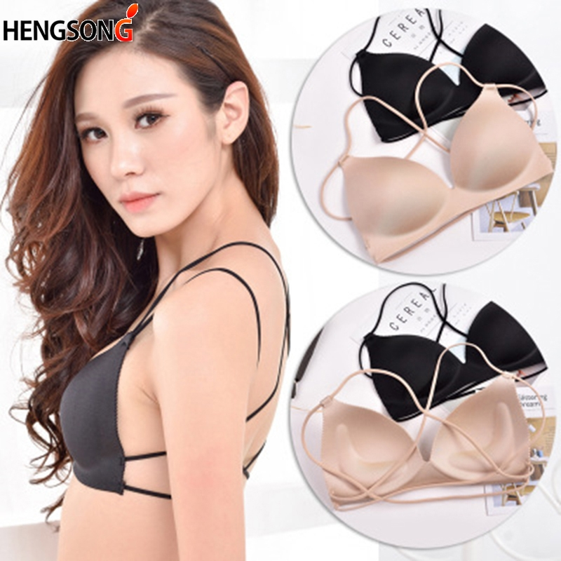 Sexy Girls Women Bras Push Up Wire Free Lingerie Bras Thin Seamless Bandage Bra Women Underwear Intimates