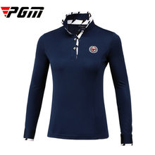 Brand Golf shirt Women long sleeve jerseys female outdoor sport turn-down collar jacket comfortable soft slim Navy blue M l xl(China)